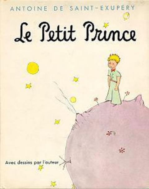 """Couverture du """"Petit Prince"""" de St Exupéry"""