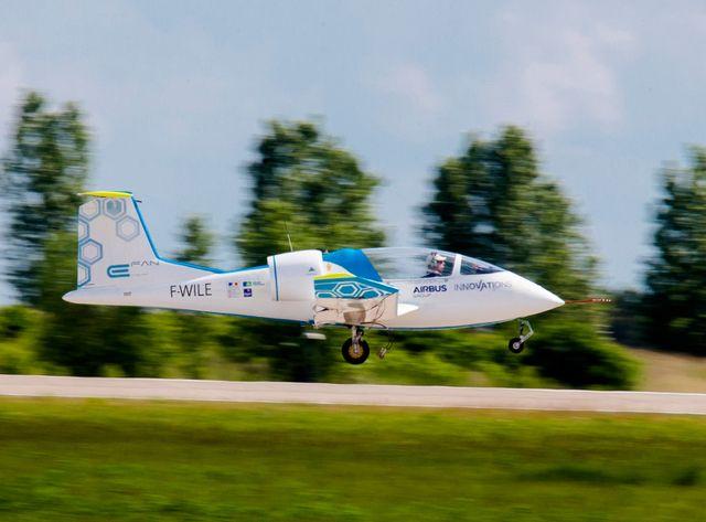 Première traversée de la Manche pour un avion électrique