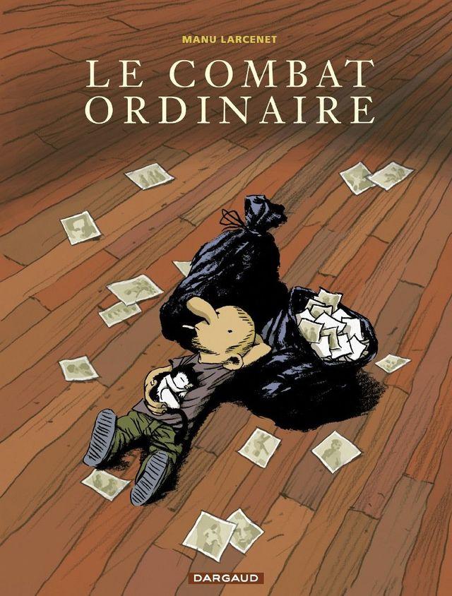 """Couverture du premier tome du """"Combat ordinaire"""" de Manu Larcenet"""