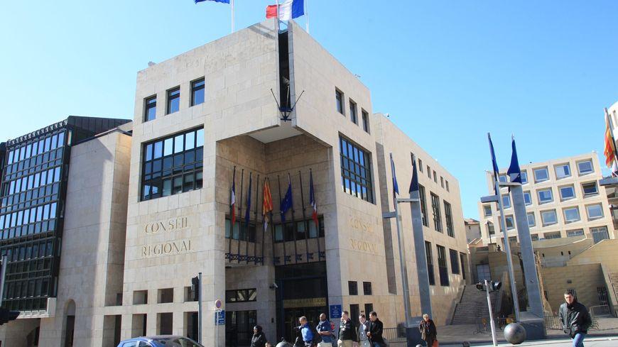 Le siège du conseil régional de PACA, à Marseille
