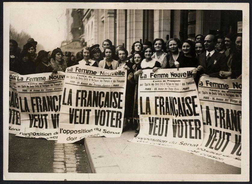 Suffragettes françaises