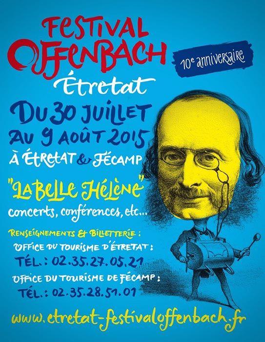 Festival Offenbach Etretat