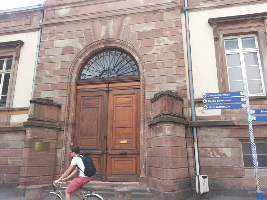 L'ancien institut d'anatomie à l'Hôpital civil à Strasbourg