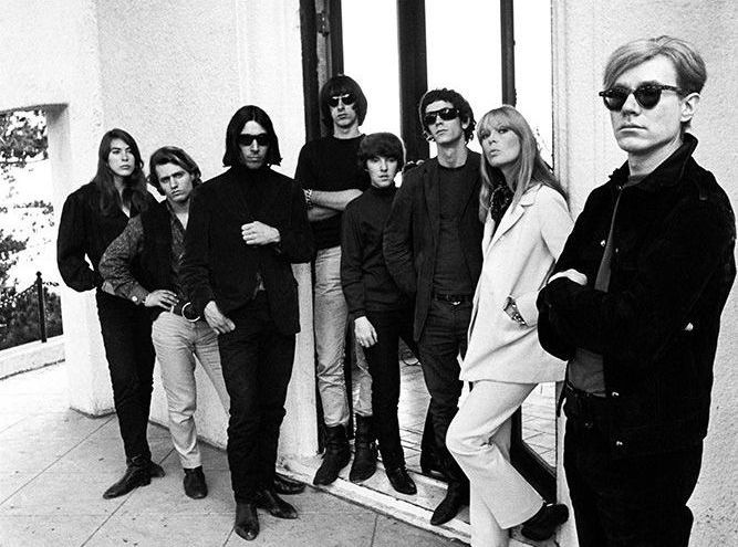 Andy Warhol and the Velvet Underground, Los Angeles, Californie, 1966
