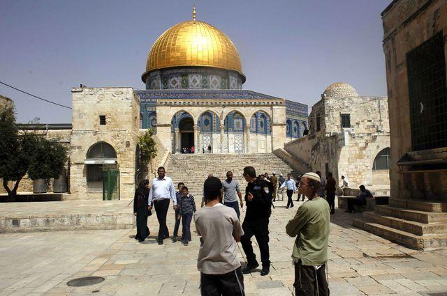 Mosquée Al Aqsa à Jérusalem