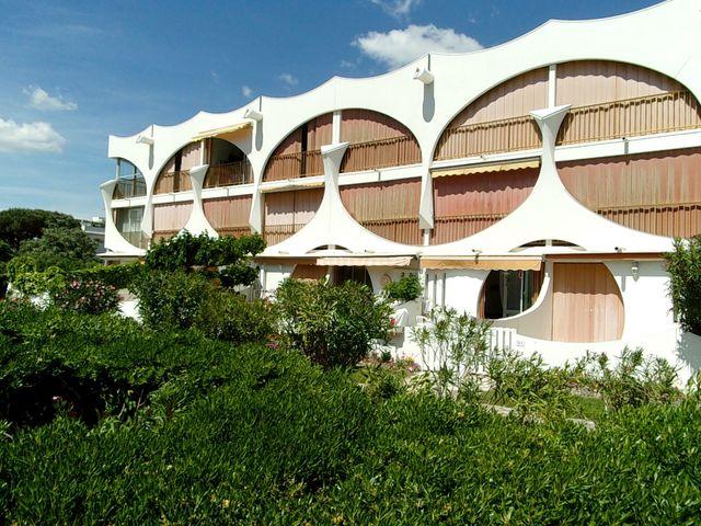 Un immeuble de La Grande Motte - Architecte en chef : Jean Balladur
