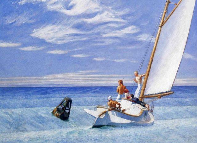 Eoduard Hopper - Ground swell