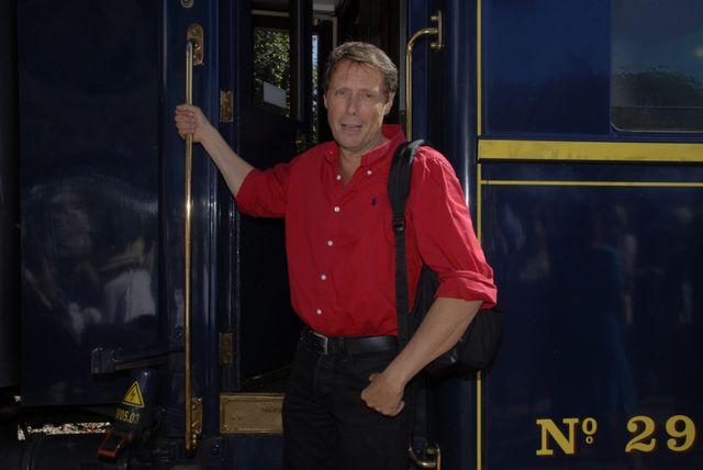 Antoine de Maximy dans l'Orient-Express (2009)
