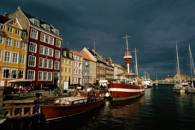 Quai de Copenhague, Danemark