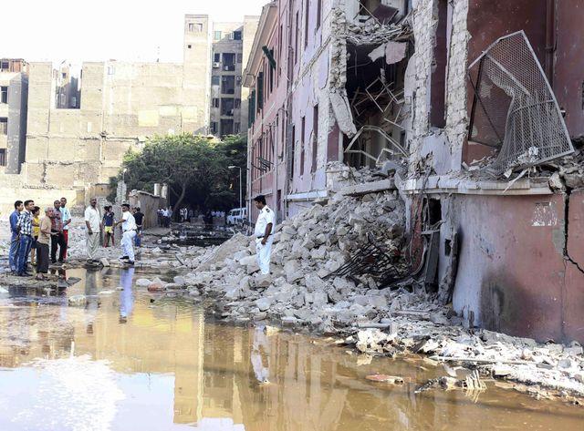 Explosion au consulat italien du Caire
