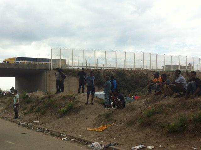 Les barrières d'accès au port de Calais ont été réhaussées
