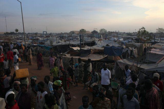 La base ONU à Malakal au Soudan du Sud