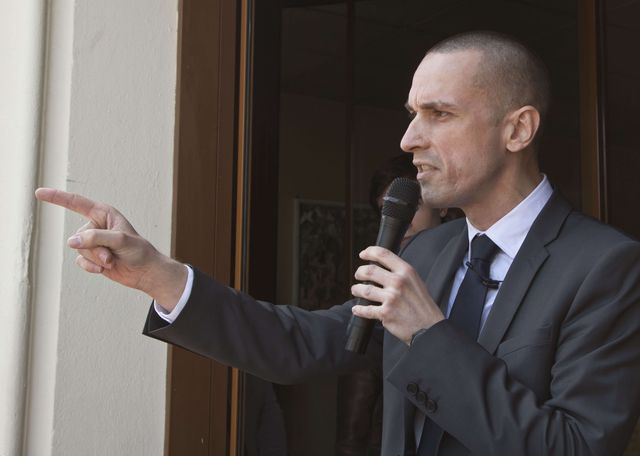 Cyril Nauth, le maire de Mantes la ville