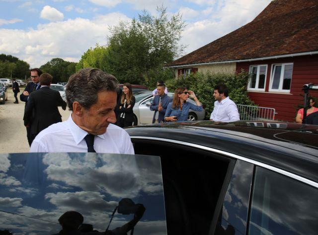 Nicolas Sarkozy dans l'Yonne