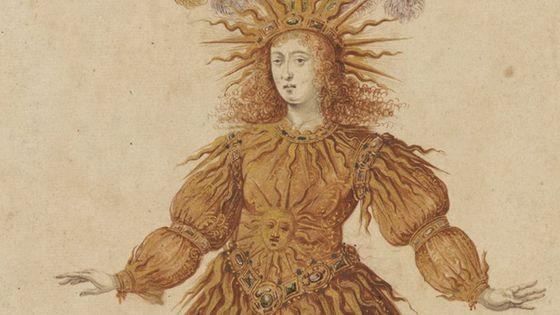 Louis XIV en soleil dans le Ballet de la Nuit