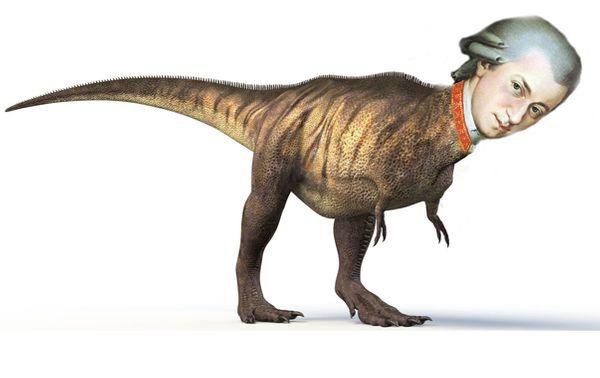 mozart dinosaure