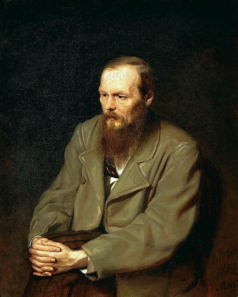 Fiodor Dostoïevski peint par Vassili Perov (1872)