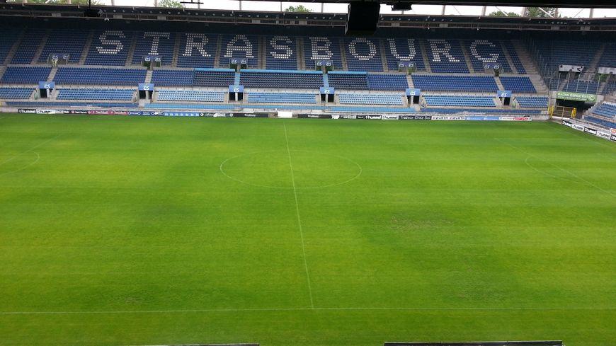 Le stade de la Meinau Racing Strasbourg