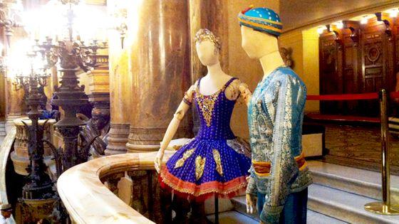 Présentation costumes opéra paris garnier