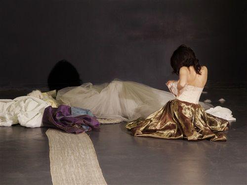 """Marie Vialle dans """"Princesse vieille Reine"""" de Pascal Quignard - Théâtre du Rond Point"""
