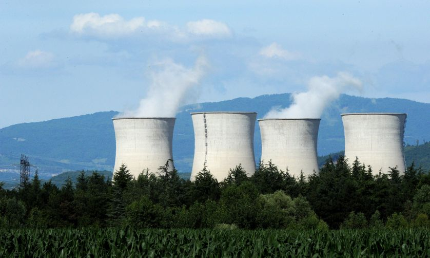 La centrale nucléaire du Bugey, dans l'Ain
