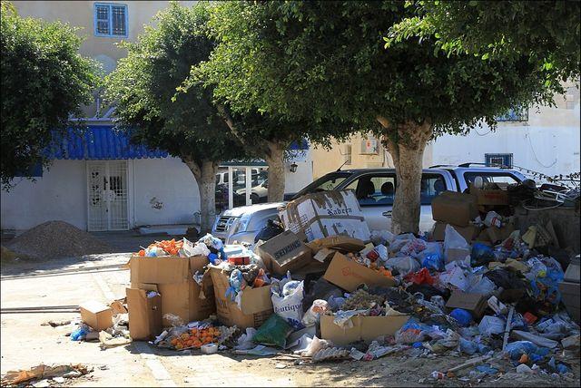 les déchets sauvages