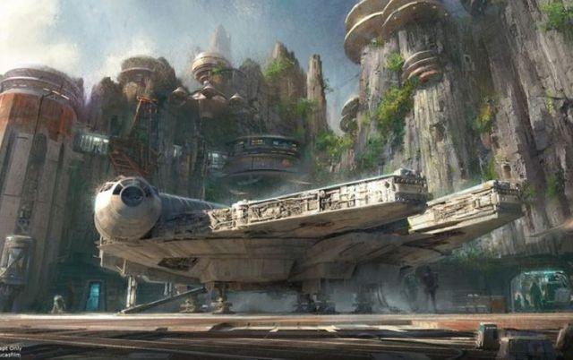 "Un avant-goût de l'un des futurs parcs ""Star Wars"", annoncés samedi par Disney"