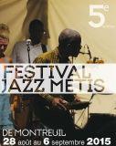 Photo - affiche Jazz métis 2015