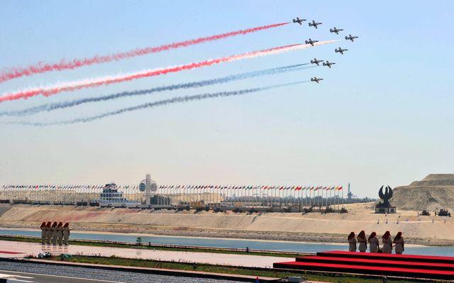Cérémonie d'inauguration du Canal de Suez