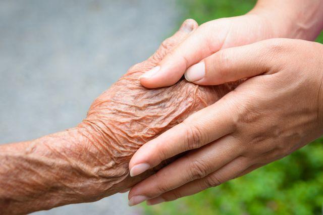 quelques heures passées avec une personne âgée