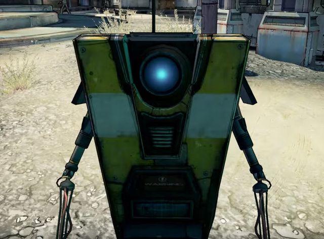 """Le robot ClapTrap dans """"Borderlands"""""""