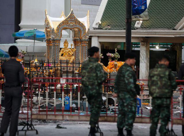 Bangkok touché en plein coeur : 21 morts et un suspect