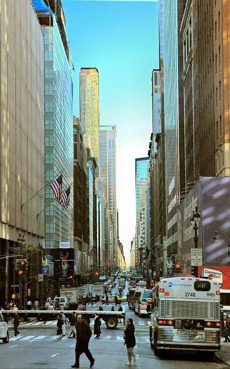 Madison Avenue, New York City