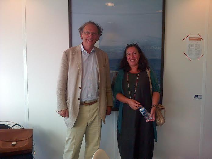 Hubert Flichy et Sandrine Foulon