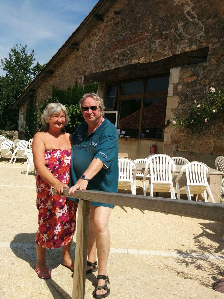Yves Hannard et sa femme tiennent le camping depuis 26 ans