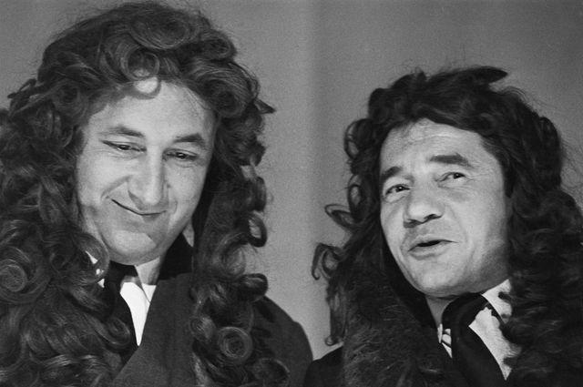 Philippe Noiret et Jean-Pierre Darras, 1963
