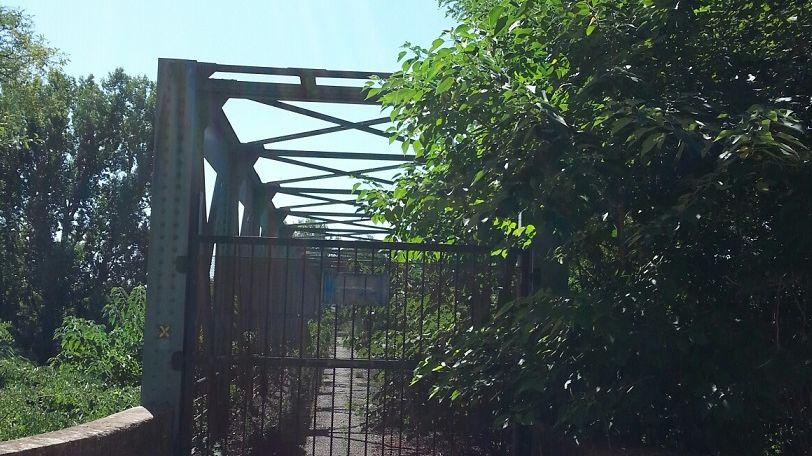 FBToulouse le pont métallique centenaire de Lacroix Falgarde