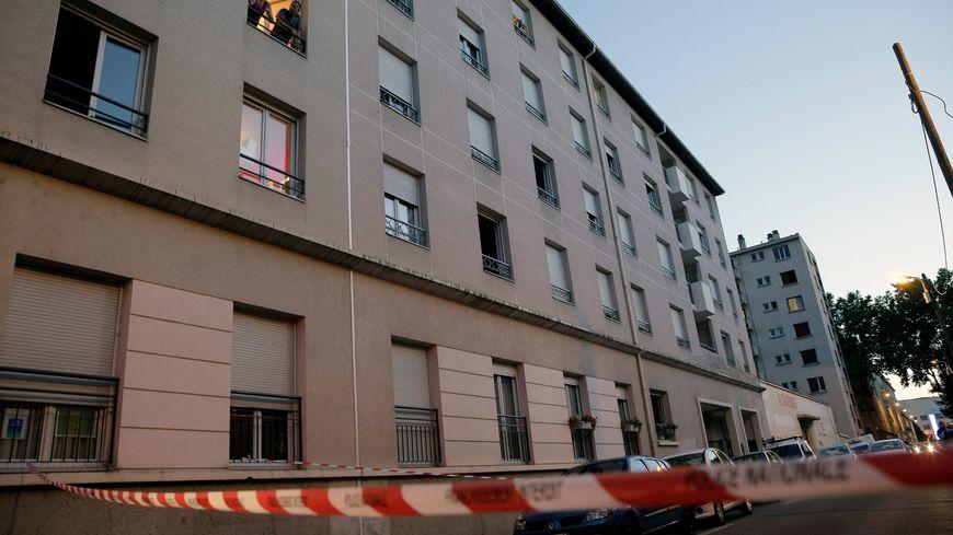 L'incident s'est produit dans la rue Chinard, à Lyon.