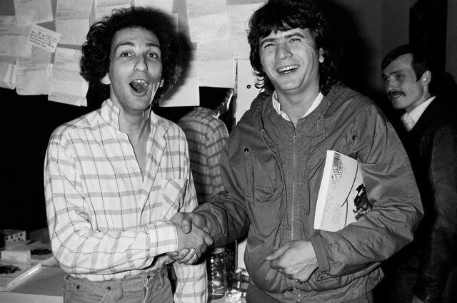 Michel Berger et Daniel Balavoine
