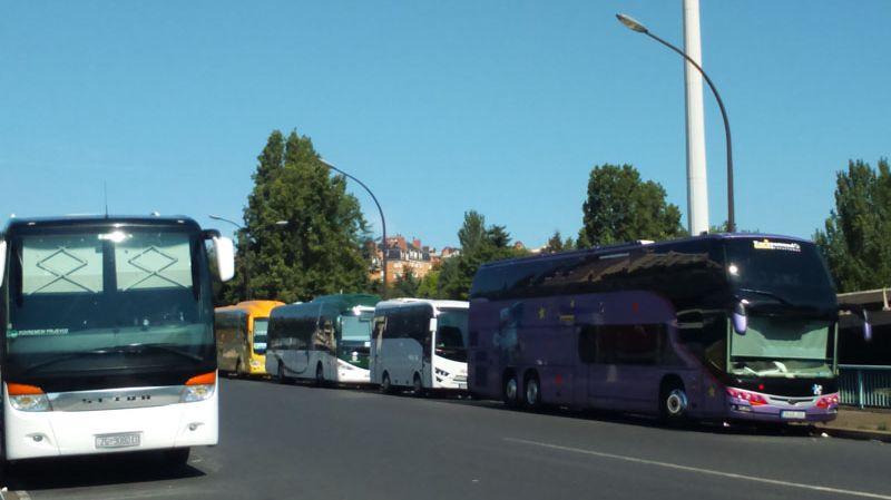Les autocars de la Porte de Bagnolet