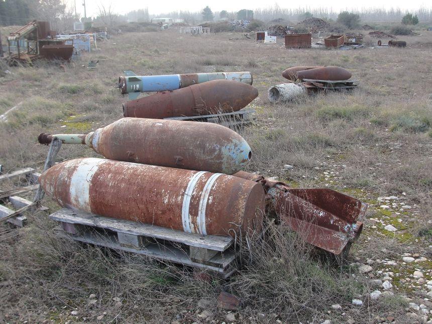 Explosifs abandonnés sur un site de Saint-Martin-de-Crau depuis 13 ans