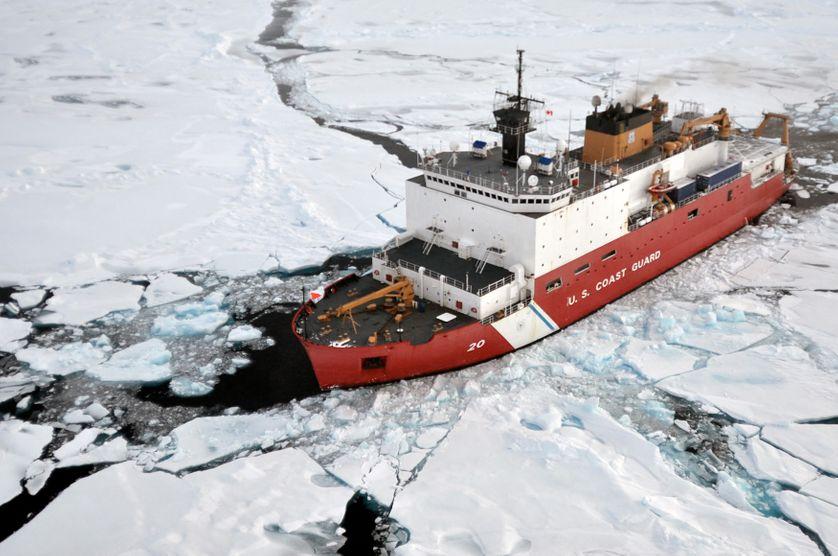 Expédition dans l'Arctique le 31 août 2009