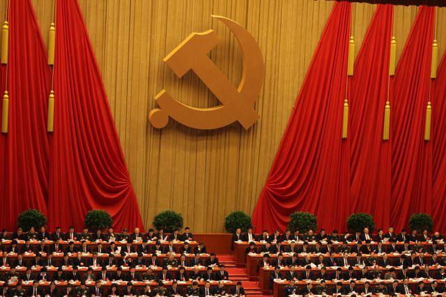 18ème Congrès national du Parti communiste chinois en 2012