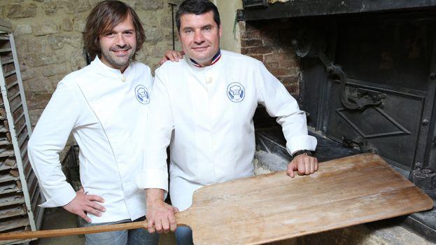 Gontran Cherrier et Bruno Cormerais, les jurés de la Meilleure boulangerie de France sur M6