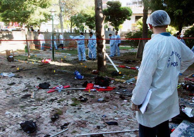 Explosion à Suruc (Turquie) en juillet 2015
