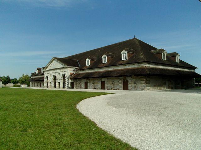 La Saline Royale d'Arc-et-Senans - Architecte : Claude-Nicolas Ledoux