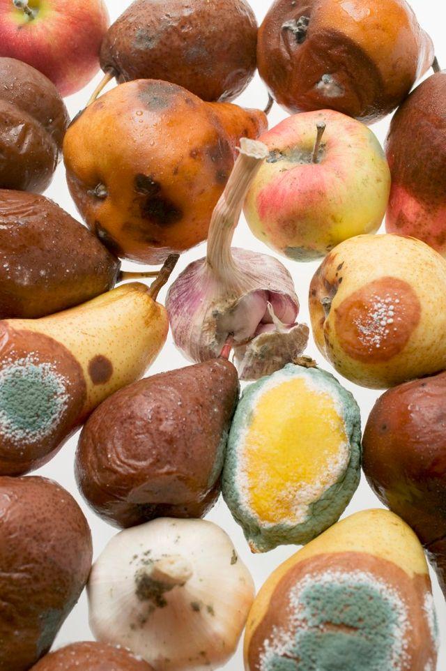 Fruits gâchés
