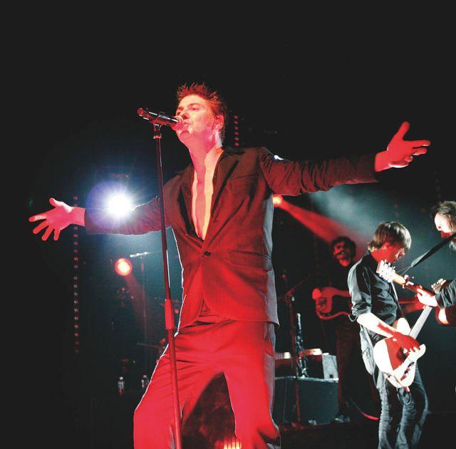 Etienne Daho en concert à l'Olympia - 2008