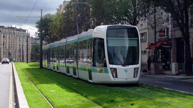 Tram illustration