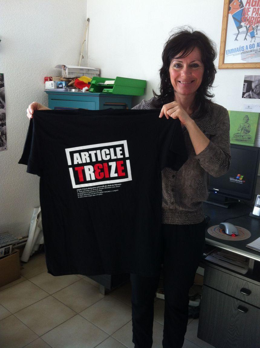 """Maria Guerra espère un soutien populaire au projet """"Article 13"""""""